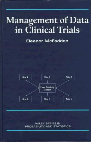 Management of data in clinical trials by Eleanor McFadden