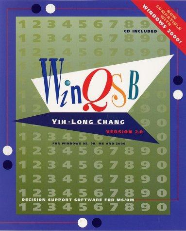 WinQSB by Yih-Long Chang, Kiran Desai