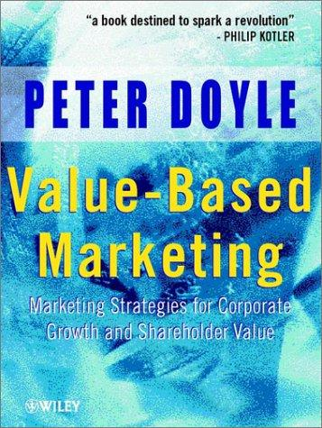 Value-based marketing by Doyle, Peter