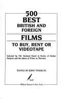500 best British and foreign films to buy, rent, or videotape by