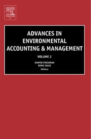 Advances in environmental accounting and management by