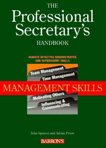The professional secretary's handbook.