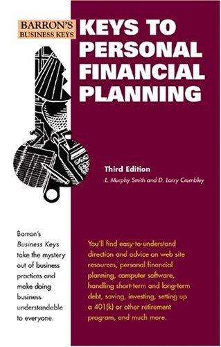 Keys to personal financial planning