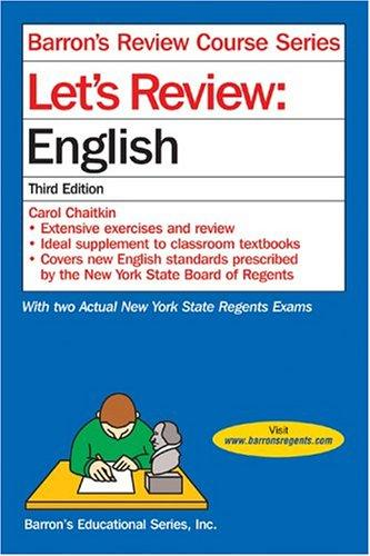 Let's review by Carol Chaitkin