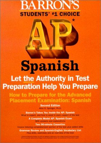 Barron's How to Prepare for the Ap by Alice G. Springer