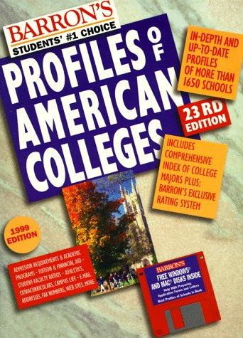 Barron's Profiles of American Colleges (23rd ed) by College Division of Barron's Educational Series