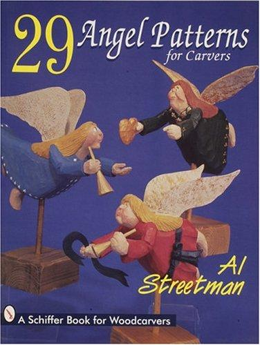 29 angel patterns for carvers by Al Streetman