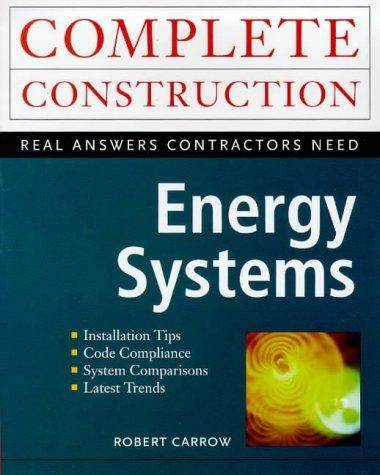 Energy Systems by Robert Carrow