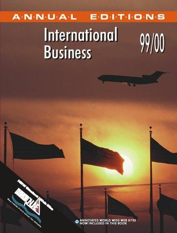 International Business 99/00 (International Business 1999-2000) by Fred Maidment