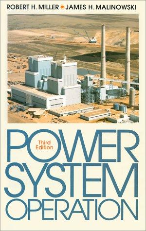 Power system operation by Miller, Robert H.