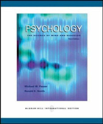 Psychology by Michael Passer