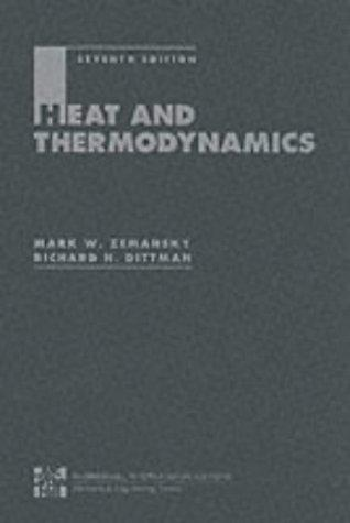Heat and Thermodynamics by Mark Zemansky