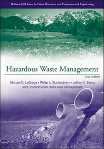 Hazardous Waste Management by Lagrega