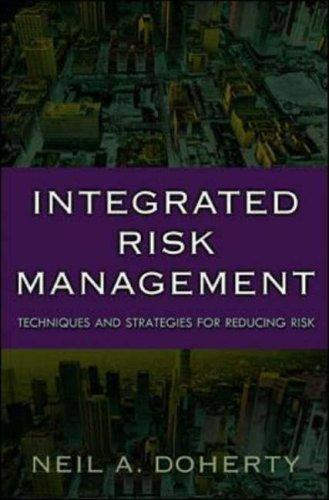 Integrated Risk Management by Neil Doherty