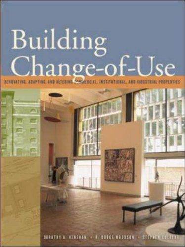 Building Change of Use by Dorothy A. Henehan
