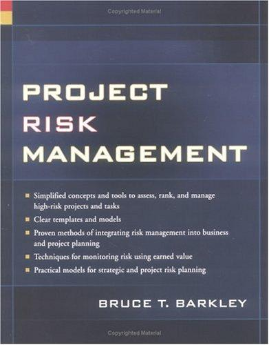Project risk management by Bruce Barkley