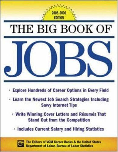 The Big Book of Jobs 2005-2006 Edition (Big Book of Jobs) by Editors of VGM