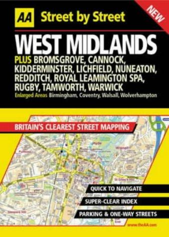West Midlands street by street by Automobile Association