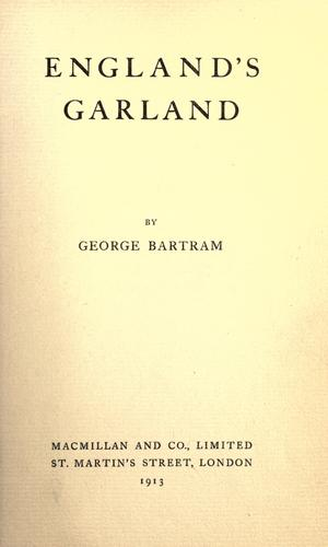 England's garland by Bartram, George.