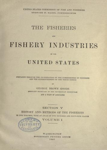The fisheries and fishery industries of the United States.