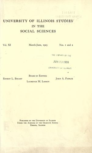 Economic aspects of southern sectionalism, 1840-1861