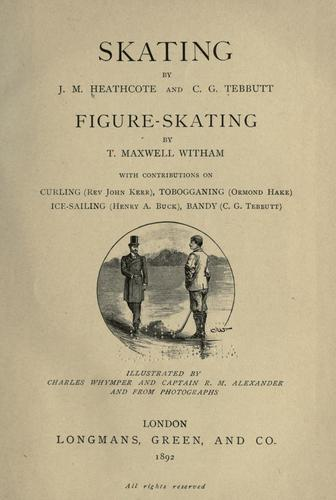 Skating by John Moyer Heathcote