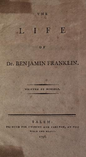 Autobiography by Benjamin Franklin