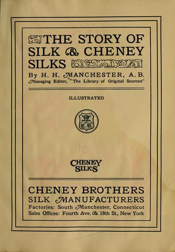 The story of silk & Cheney silks