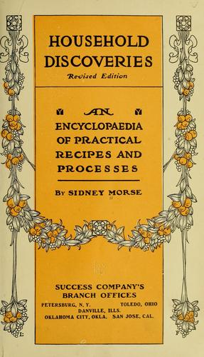 Household discoveries by Sidney Levi Morse