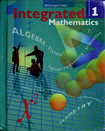 Integrated mathematics by Rheta Norma Pollock Rubenstein