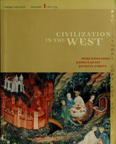 Civilization in the West by Mark A. Kishlansky