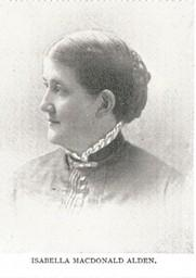 Photo of Isabella Macdonald Alden