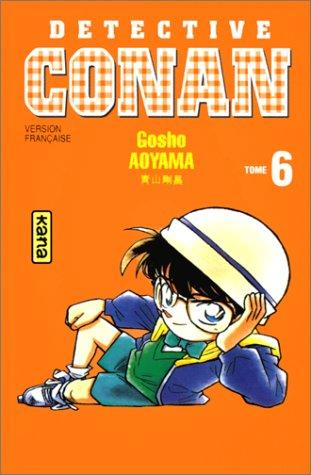 Détective Conan, tome 6 by Gosho Aoyama