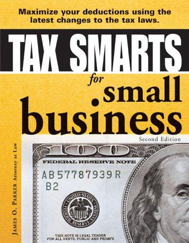Tax smarts for small business by