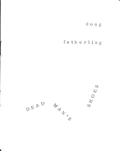 Dead Man's Shoes by George Fetherling