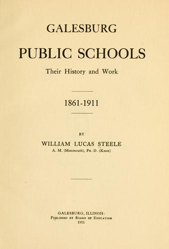 Galesburg public schools