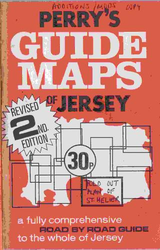 Perry's guide maps of Jersey by Roy S. Perry