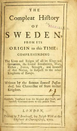 The compleat history of Sweden
