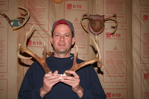 The Maine Antler and Skull Trophy Club by Dick Arsenault.