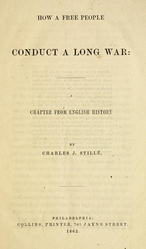 How a free people conduct a long war