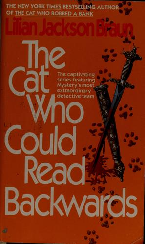 The Cat Who  could read backwards by Jean Little