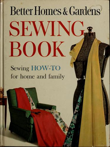 Sewing book by