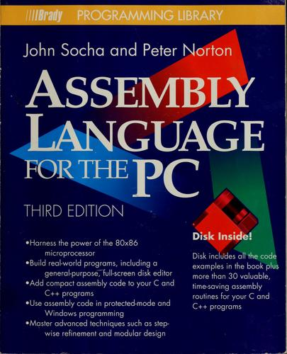 Assembly language for the PC by John Socha