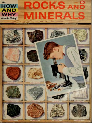 The how and why wonder book of rocks and minerals by Nelson W. Hyler