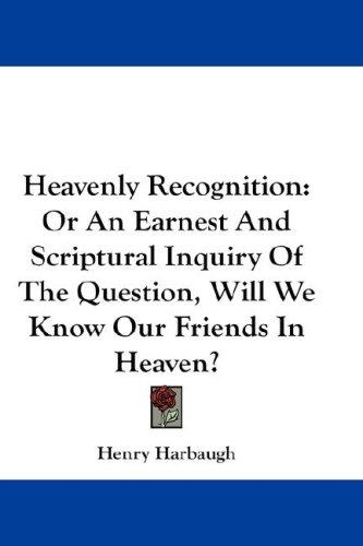Heavenly Recognition by Henry Harbaugh