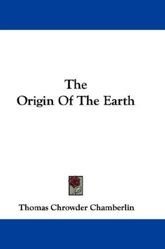 The Origin Of The Earth