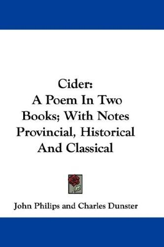 Cider by John Philips