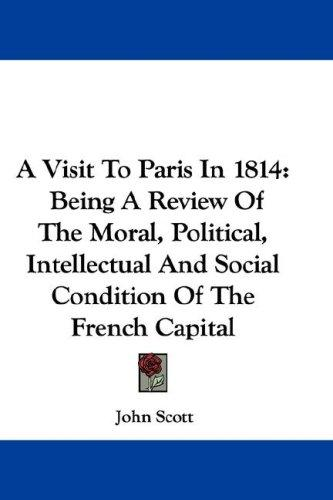A Visit To Paris In 1814