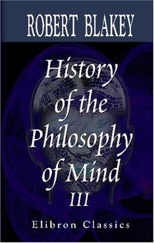 History of the Philosophy of Mind