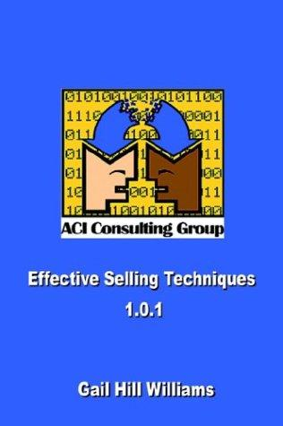 Effective Selling Techniques 1.0.1 by Gail Hill Williams
